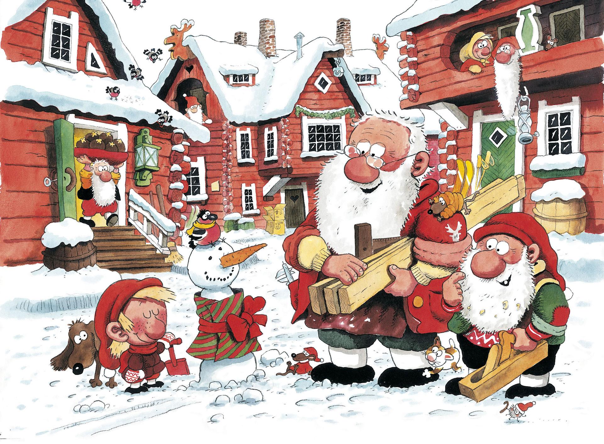 Linkki tapahtumaan Kaksitoista lahjaa Joulupukille