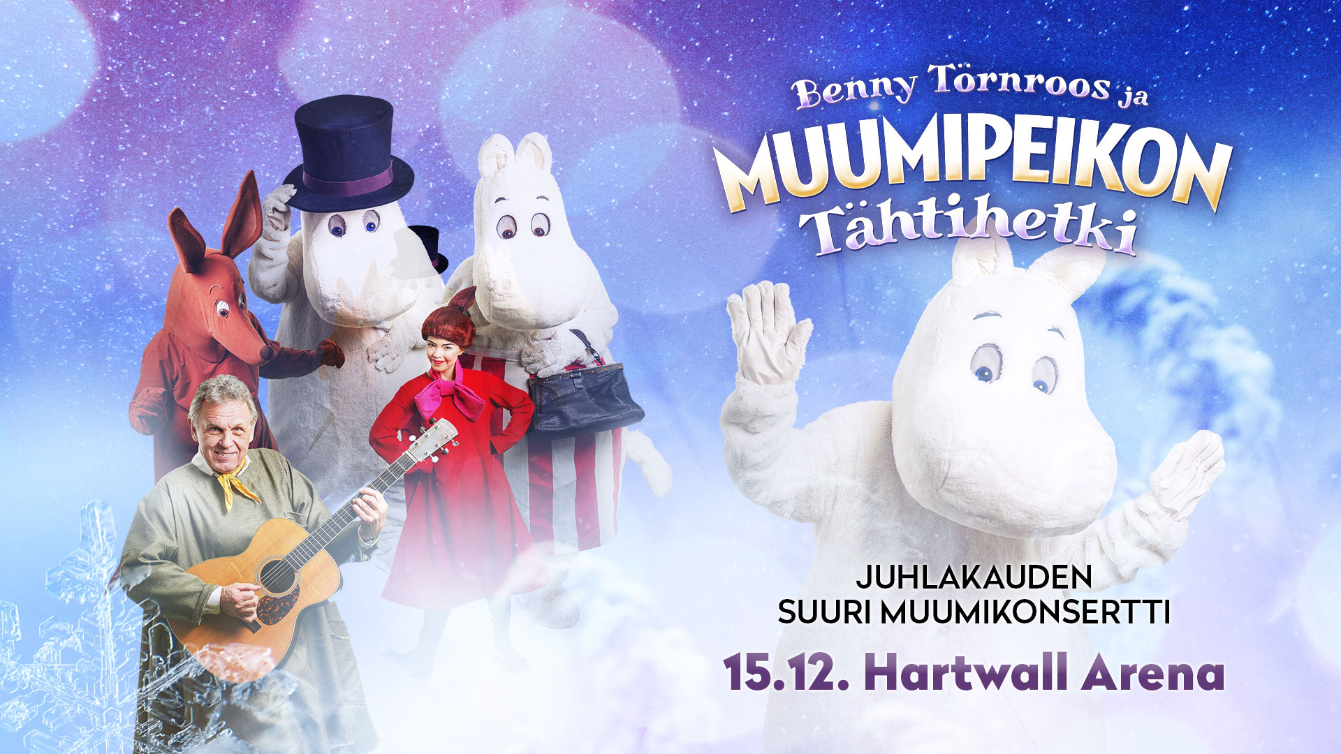 Link to event Benny Törnroos and Moomin Concert