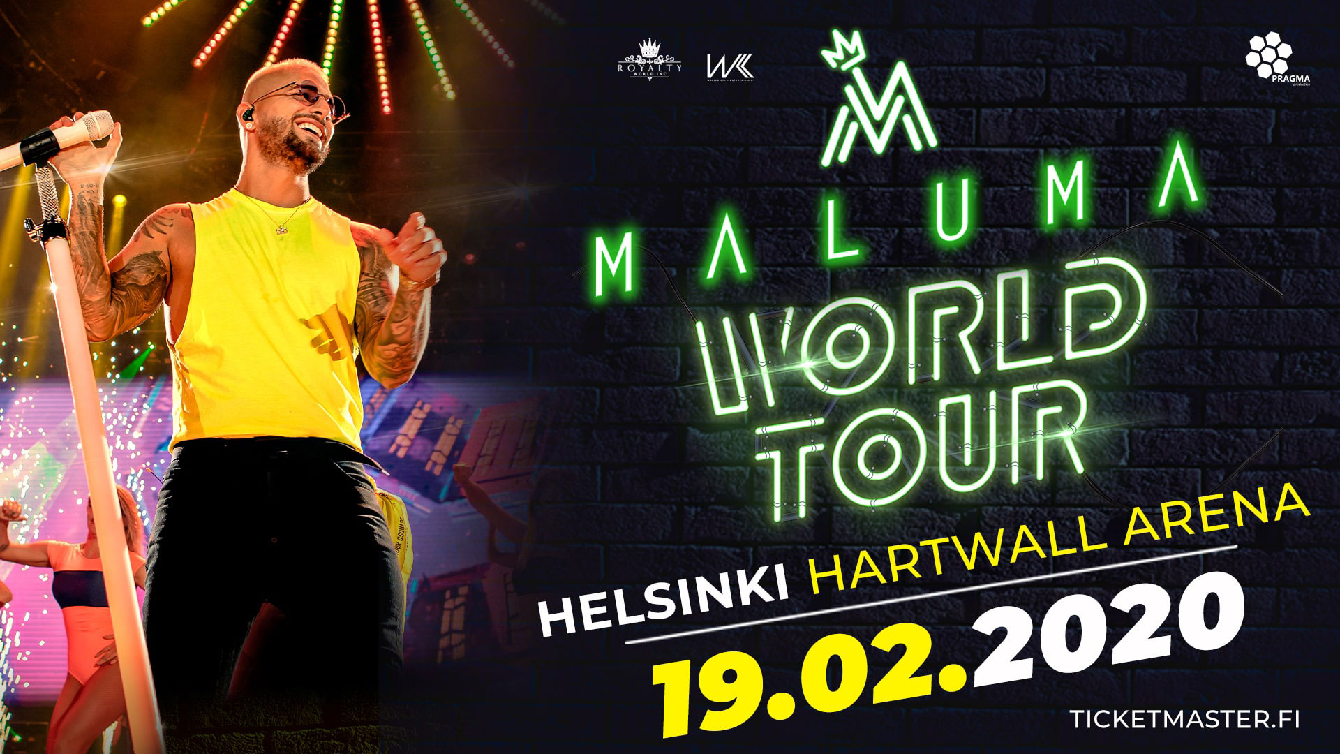 Link to event Maluma