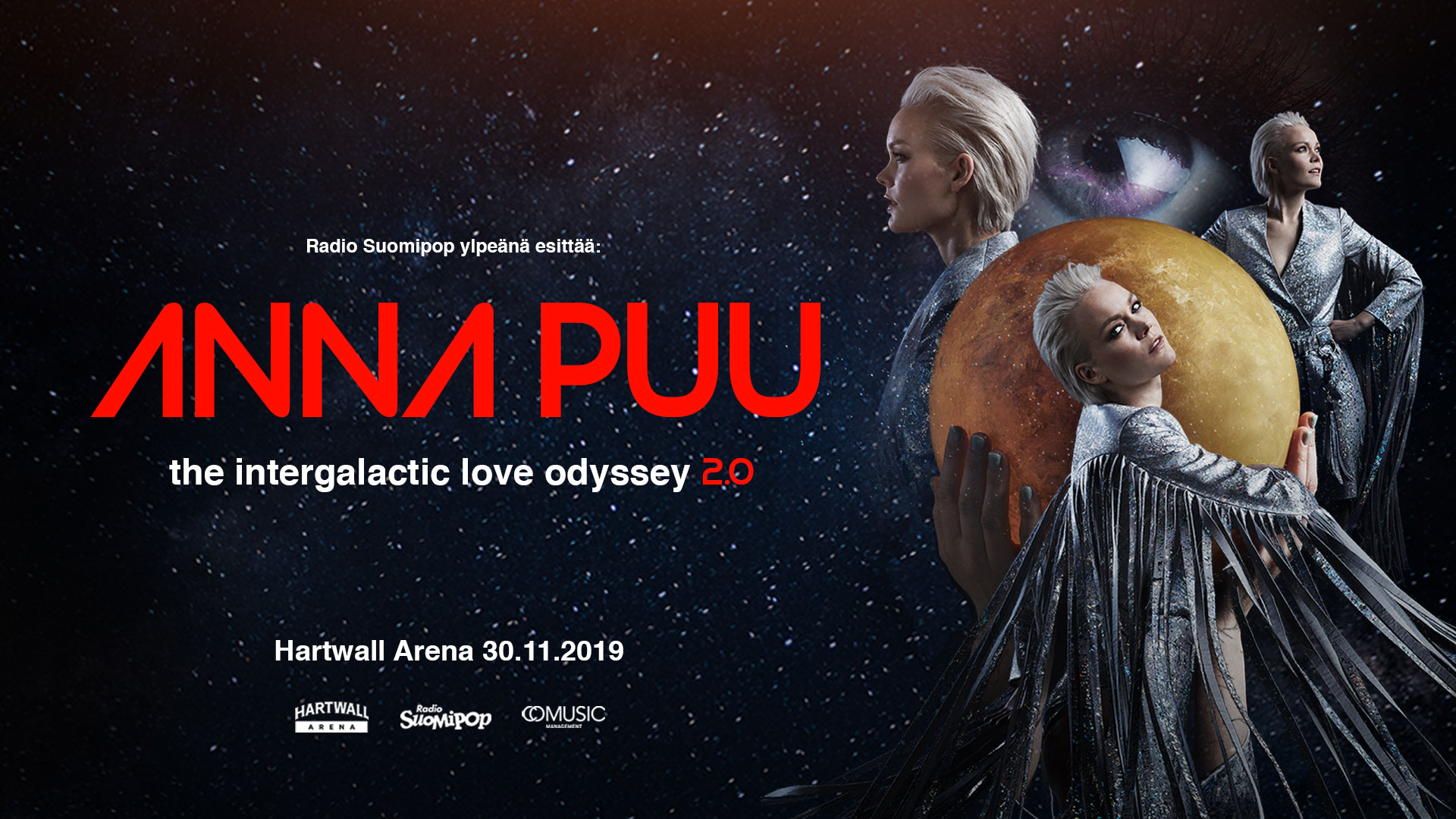 Link to event Anna Puu: The Intergalactic Love Odyssey 2.0