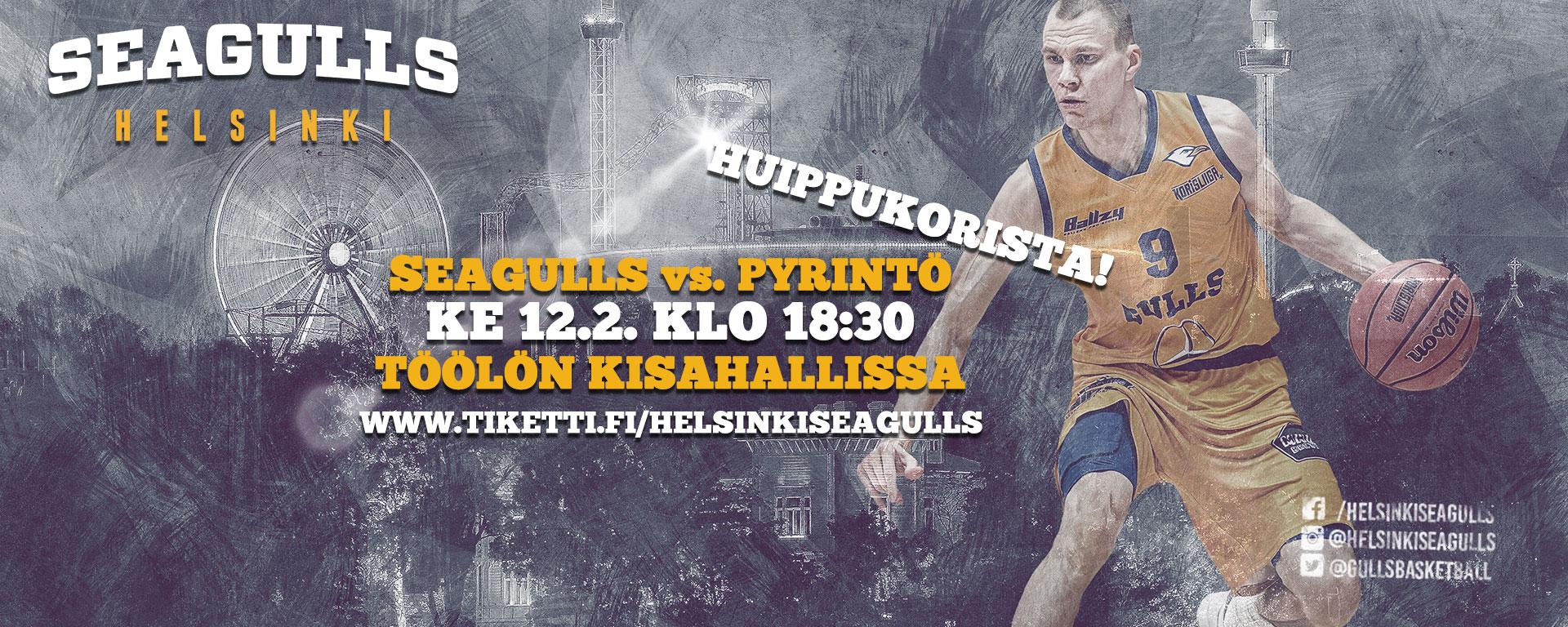 Link to event Helsinki Seagulls - Tampereen Pyrintö