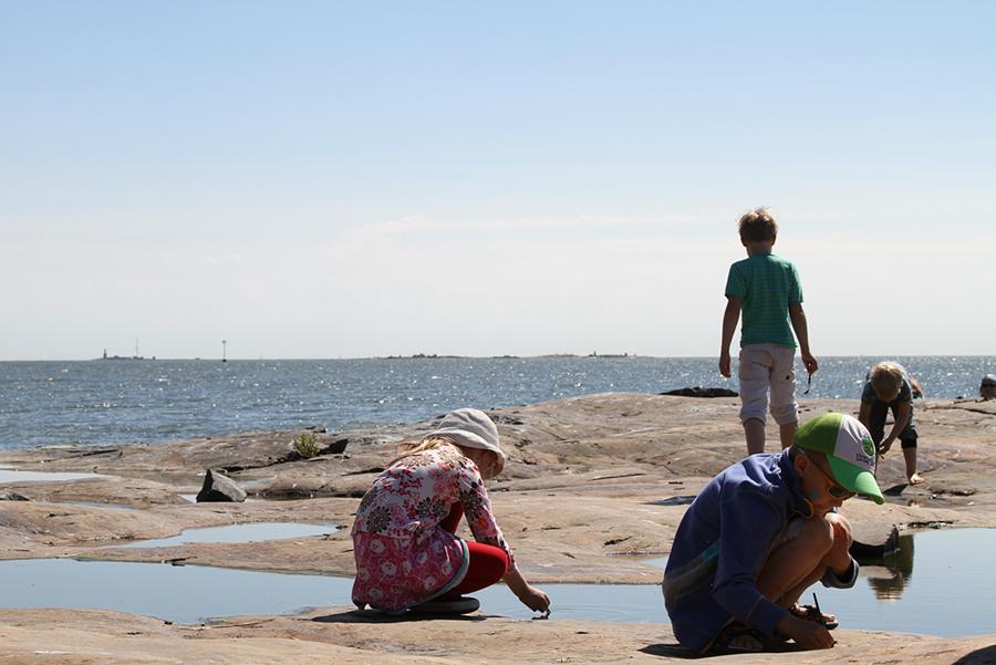 Linkki tapahtumaan Lasten saariseikkailu Harakan saarella