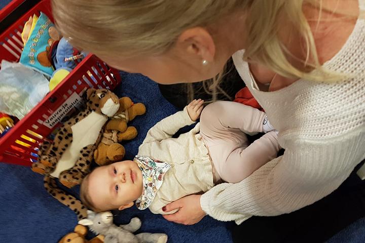 Linkki tapahtumaan Pienten puuhat - Vauvahierontaa ei vielä käveleville vauvoille