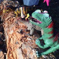 Linkki tapahtumaan Tänään leikitään Dinosauruksilla