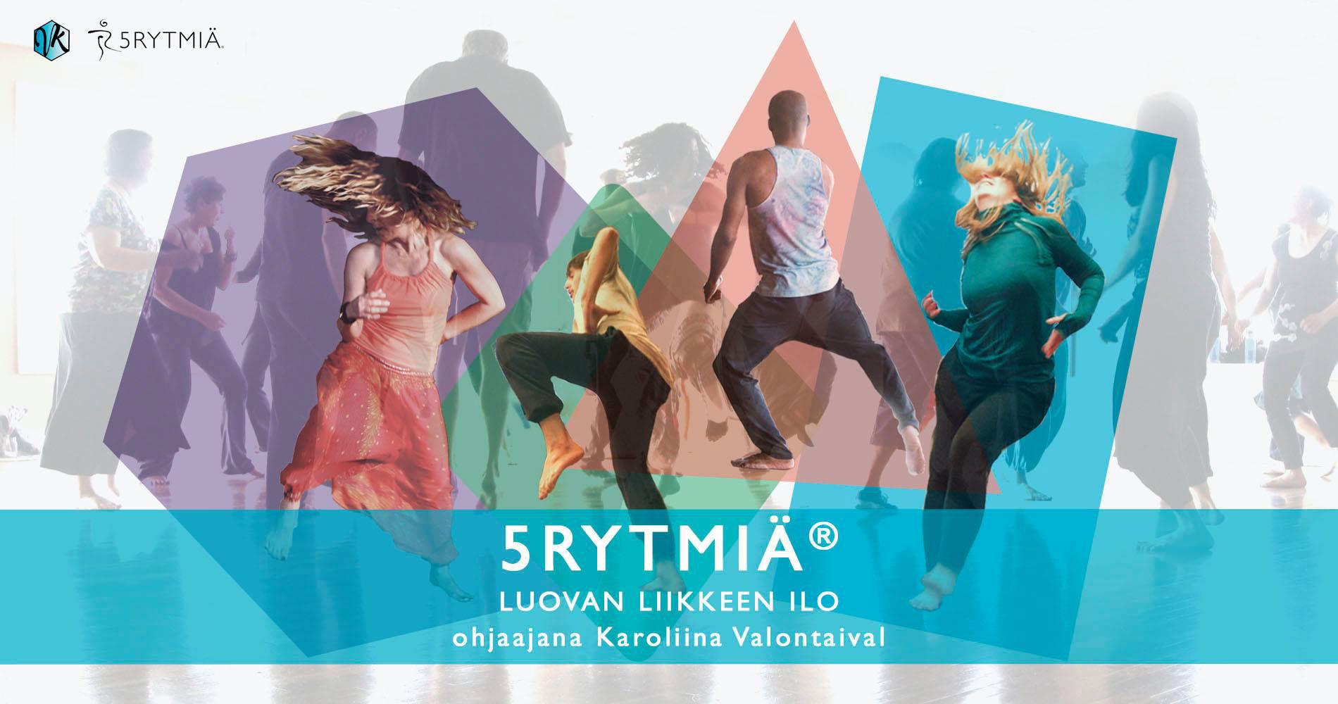 Link to event 5Rhythms®: Creative Dance Tuesday