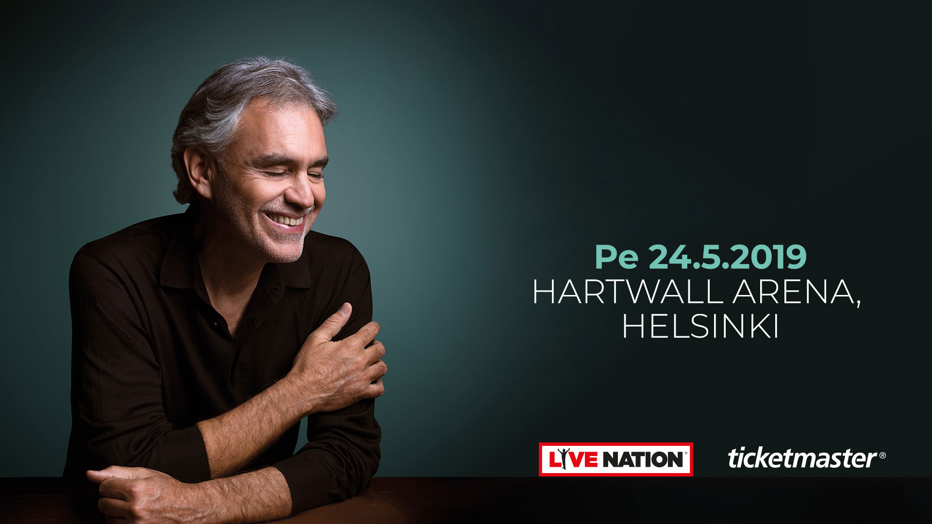 Link to event Andrea Bocelli