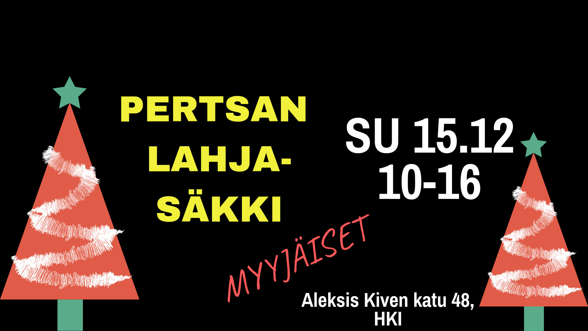 Link to event Pertsan Lahjasäkki Sales Party
