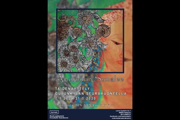 Linkki tapahtumaan Amornwan Sumalee - taidenäyttely