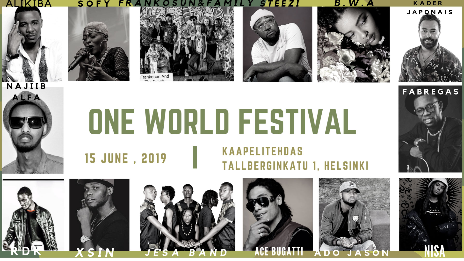 Link to event One World Festival 2019