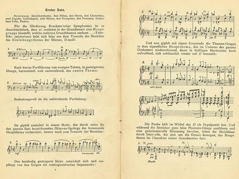 Linkki tapahtumaan Brucknerin sinfonioista
