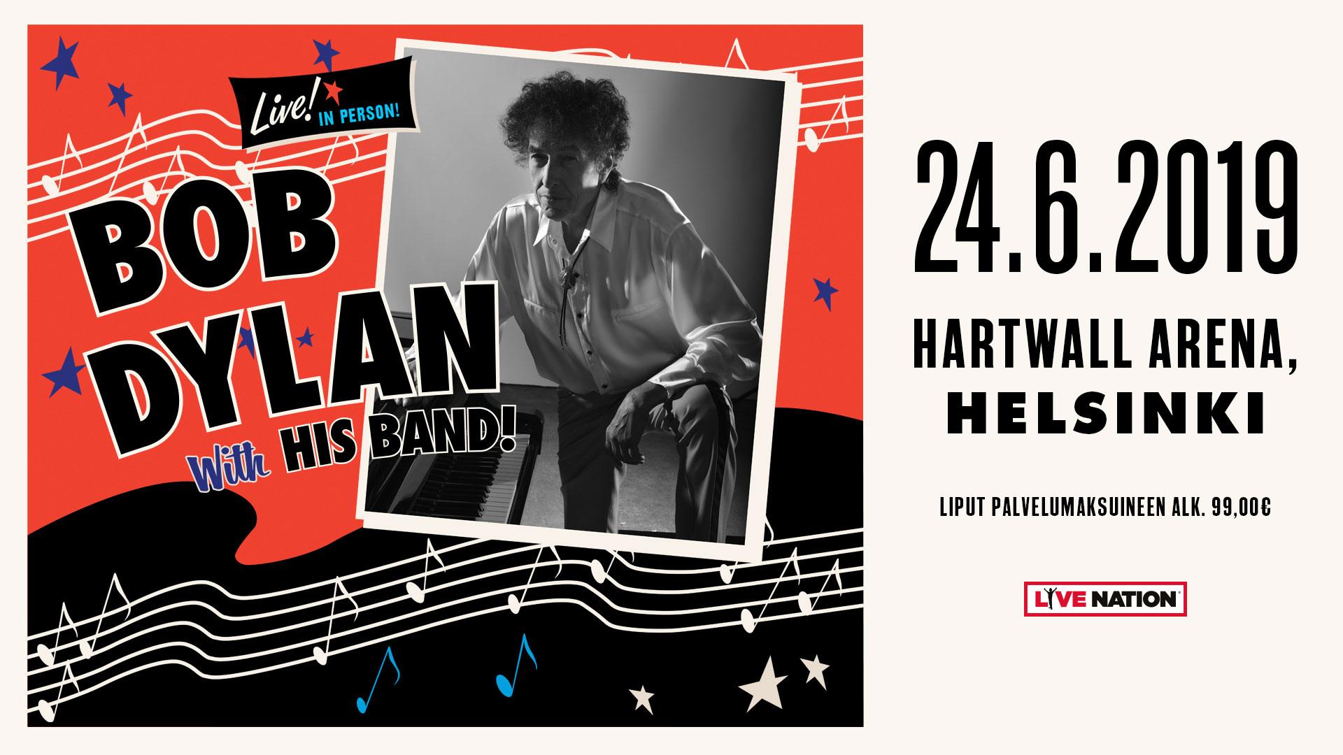 Linkki tapahtumaan Bob Dylan