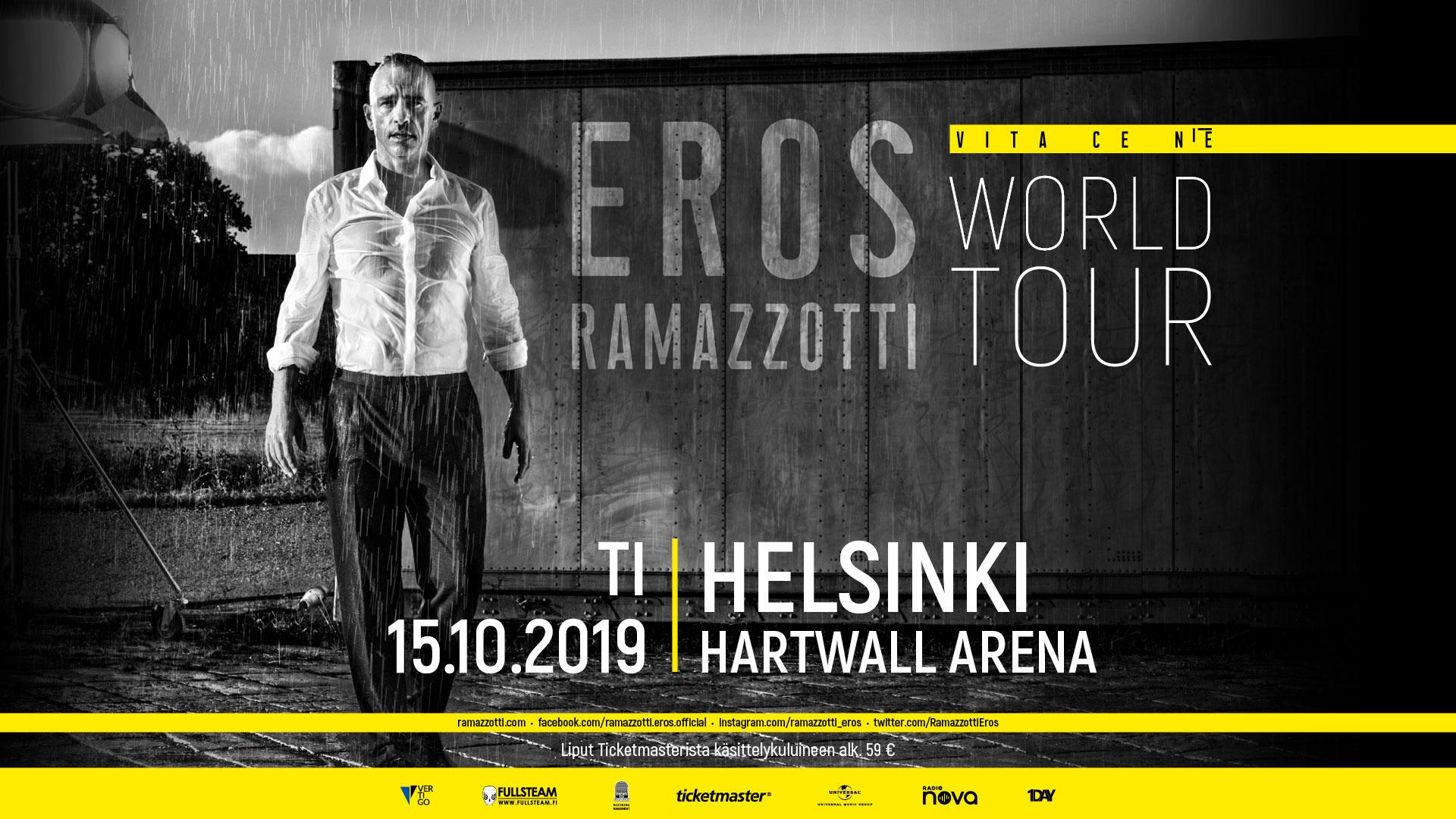 Link to event Eros Ramazzotti
