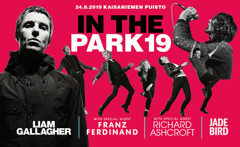 Link to event In The Park 19: Liam Gallagher, Richard Ashcroft