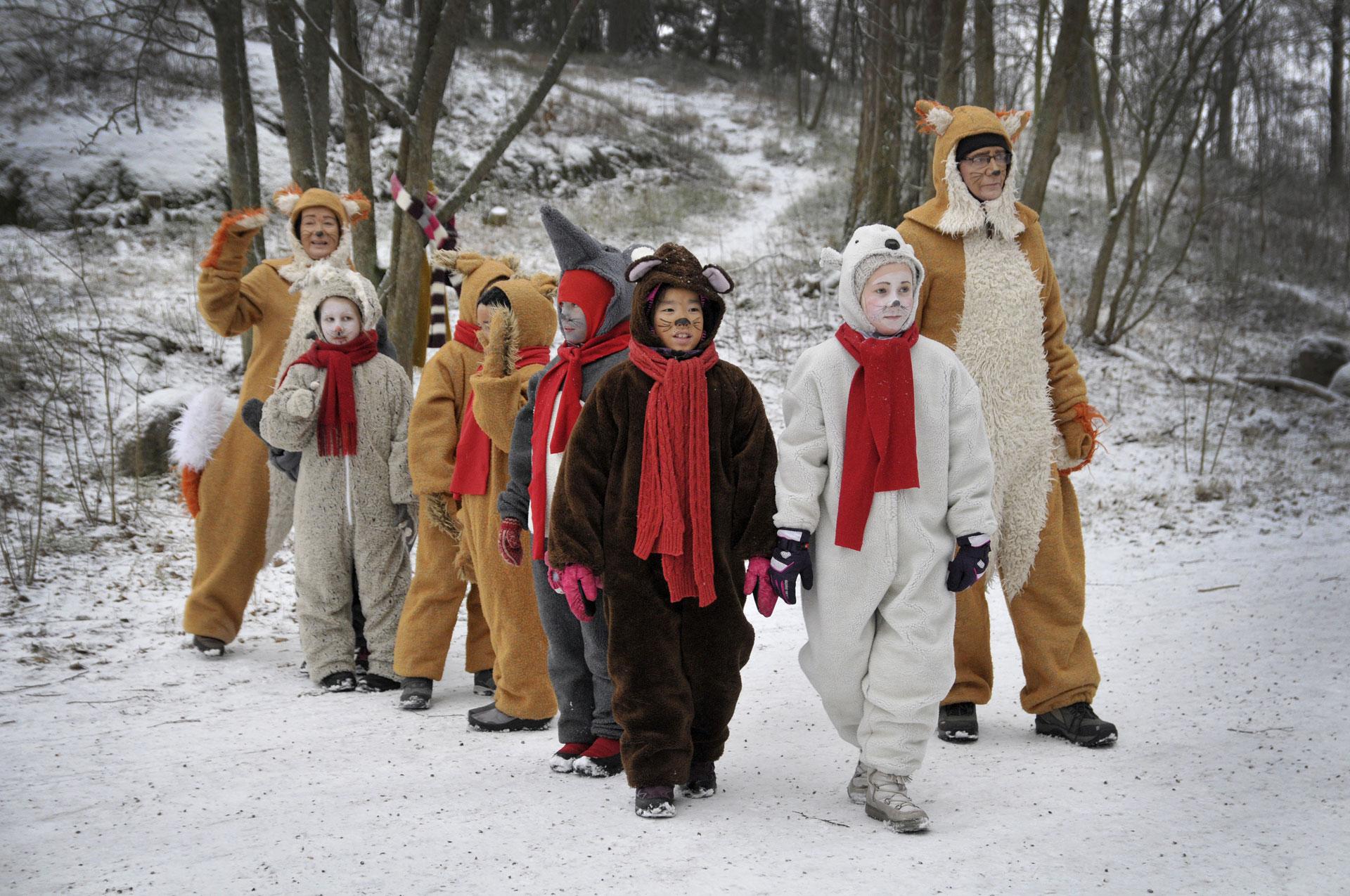 Länken till evenemang Fölisöns Julstig 2019