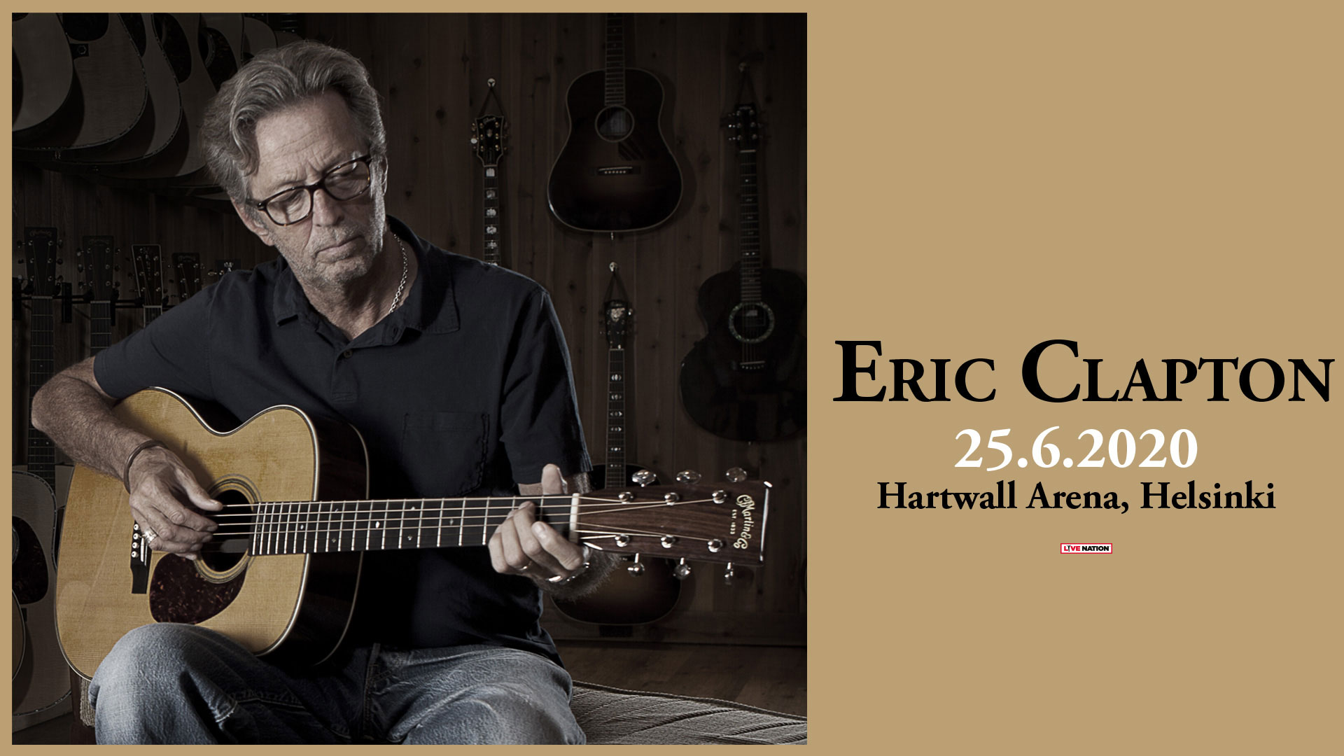Link to event Eric Clapton
