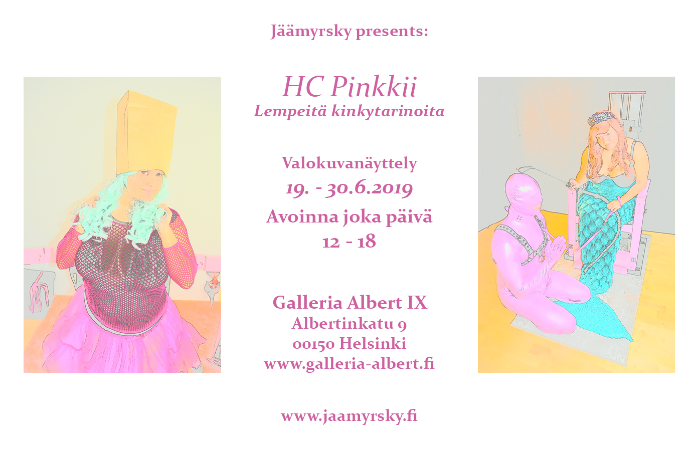 Link to event HC in Pink - Gentle kinky stories