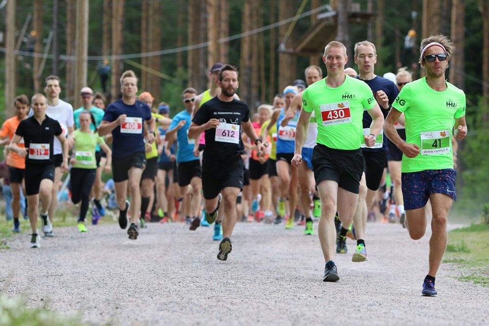 Linkki tapahtumaan Helsinki Central Park Run 2019