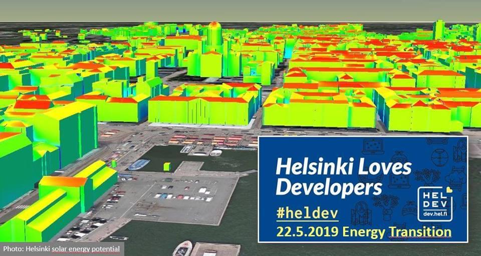 Link to event Helsinki Loves Developers: Boosting energy transition in Helsinki