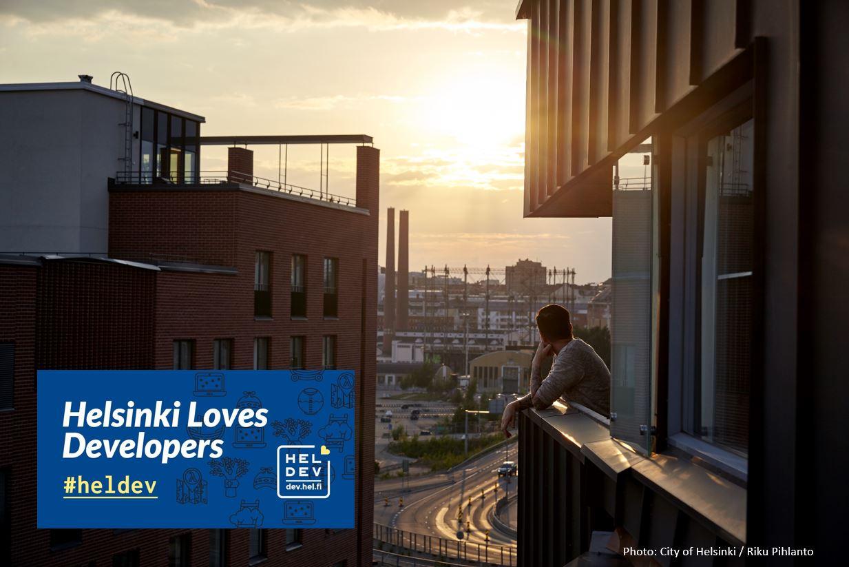 Linkki tapahtumaan HelLovesDev: IoT-alustat vauhdittavat älykkään kaupungin kehittämistä