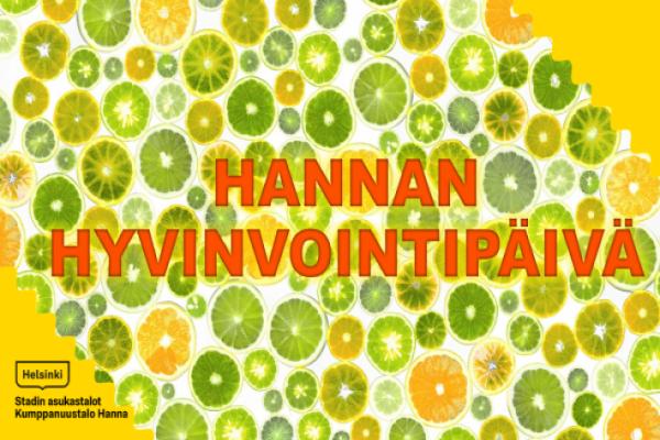 Linkki tapahtumaan Tule Hannan hyvinvointipäivään 21.11.