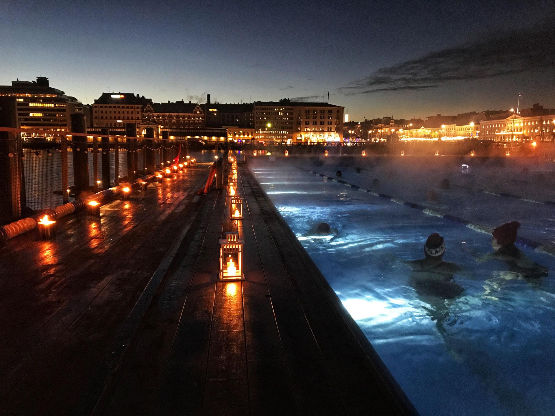 Link to event Allas Moonlight Swim
