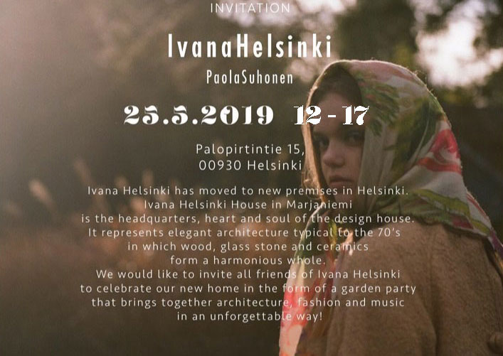 Link to event Ivana Helsinki Housewarming Party