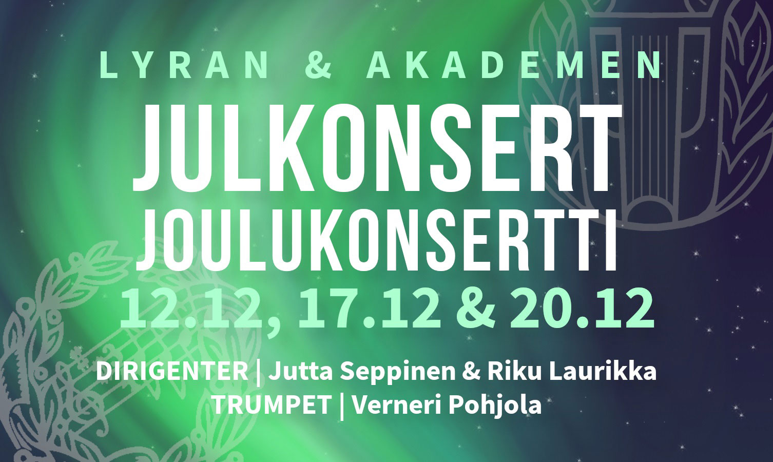 Link to event Christmas Concert with Lyran and Akademen