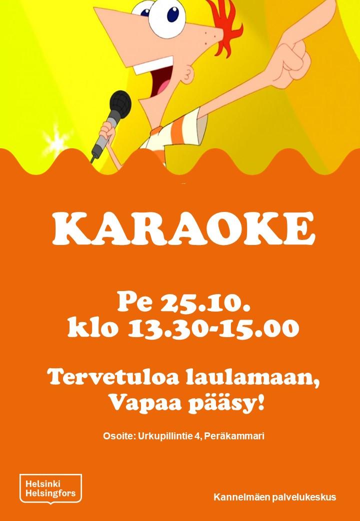 Linkki tapahtumaan Karaoke
