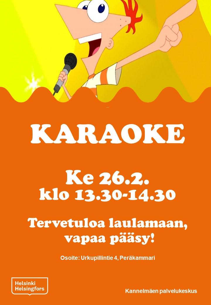 Linkki tapahtumaan Musakeskiviikko: Karaoke