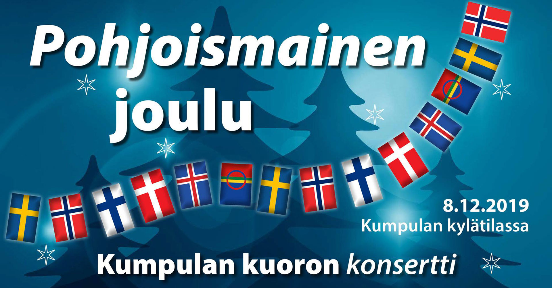 Link to event Kumpula Choir Christmas Concert