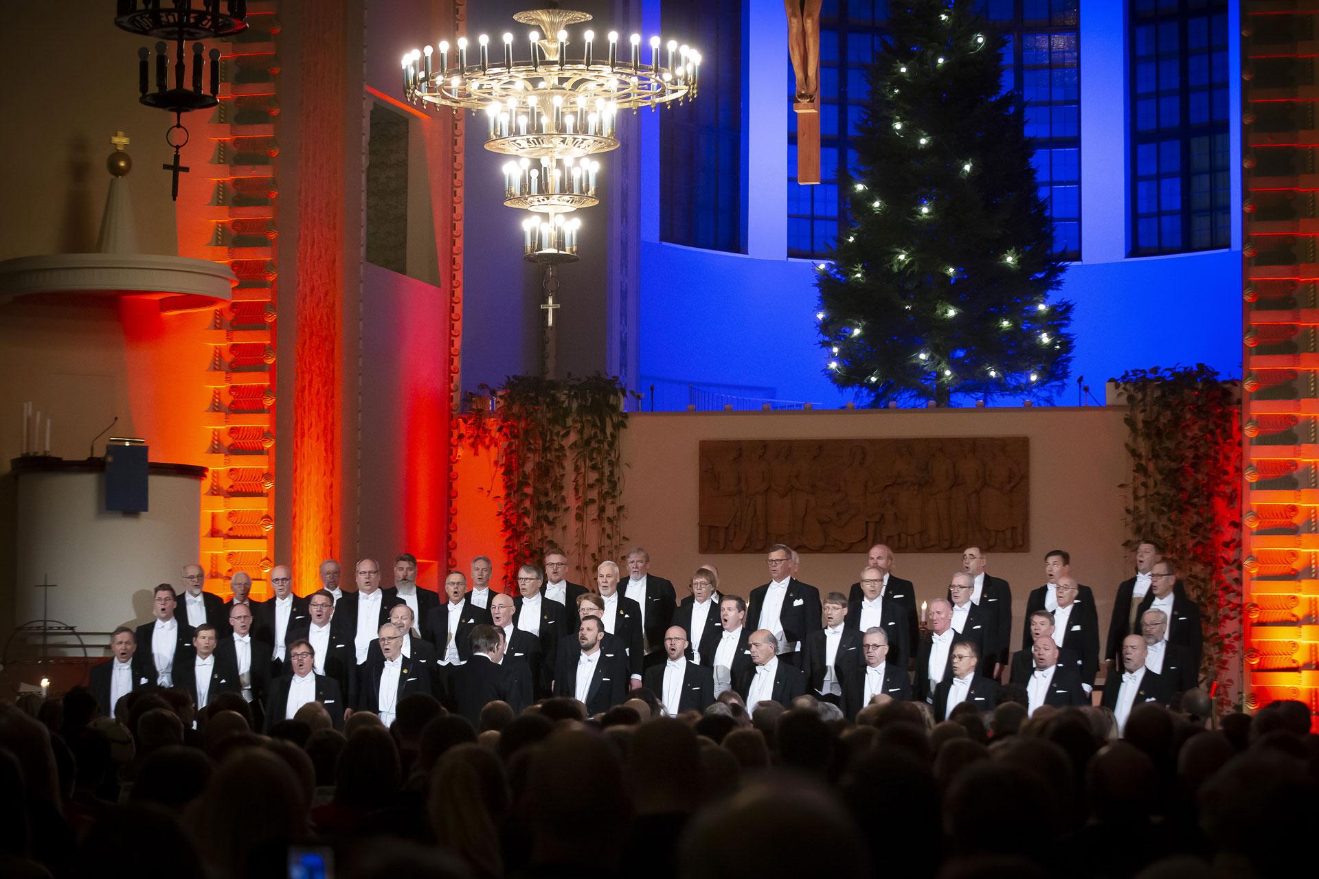 Link to event Julkonsert av Laulu-Miehet