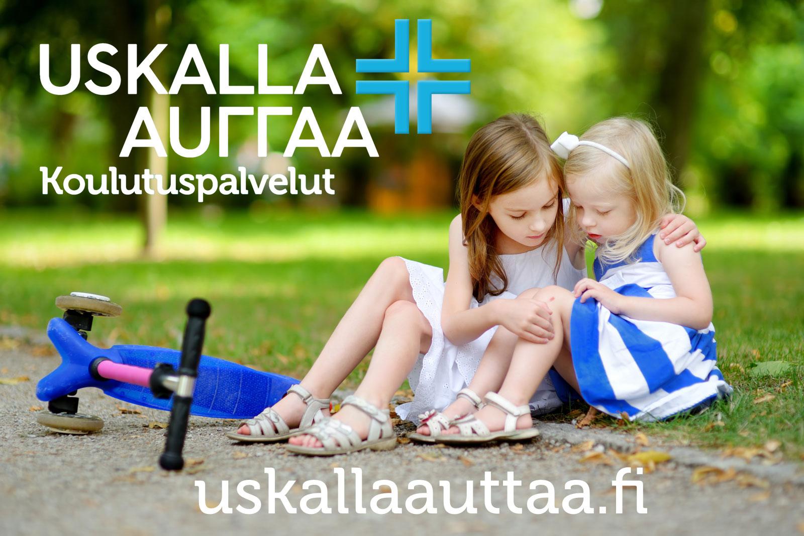 Linkki tapahtumaan Lasten ensiapu ja hätätilanteet Helsinki 4h -kurssi