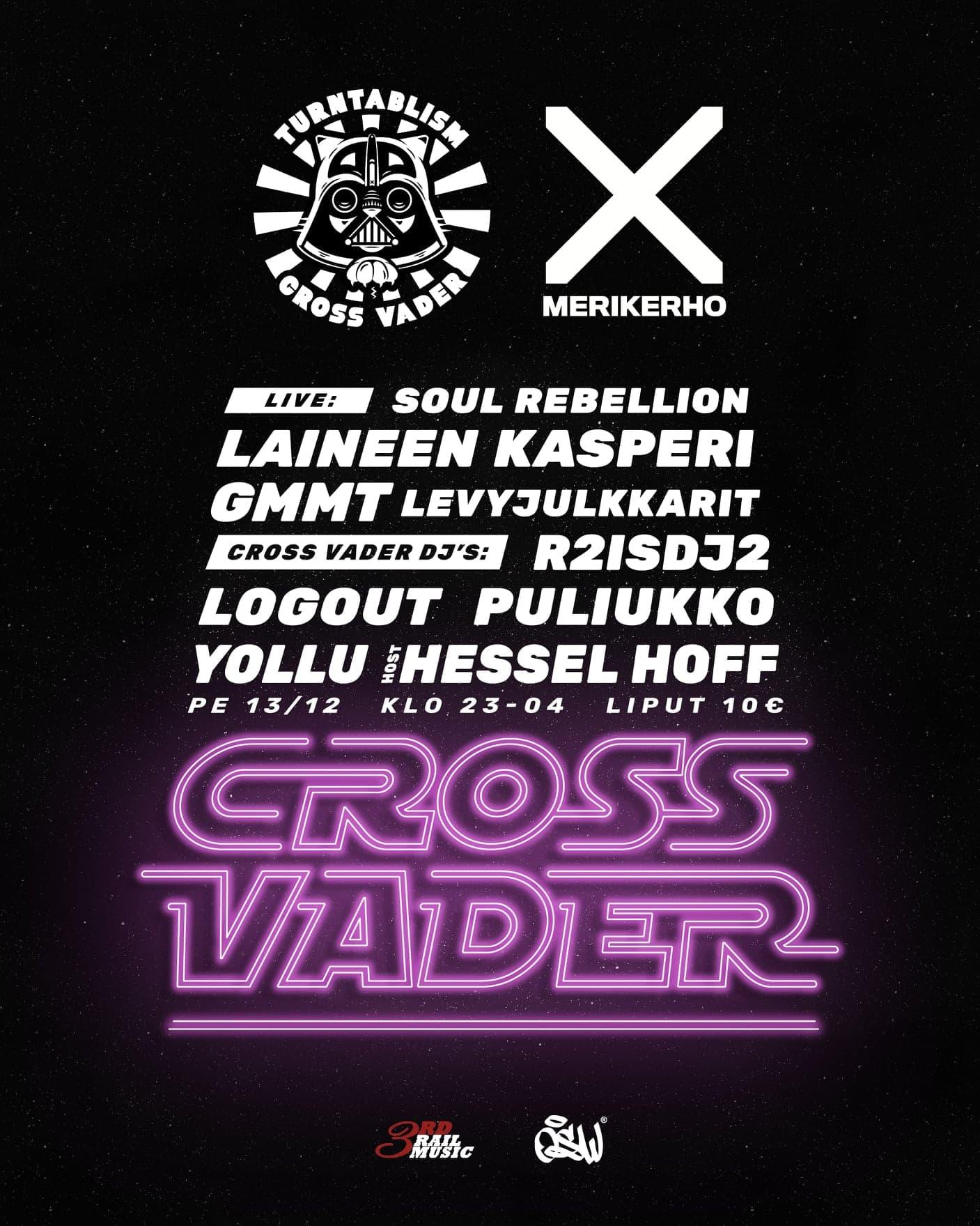 Linkki tapahtumaan Cross Vader - 100% levarismia