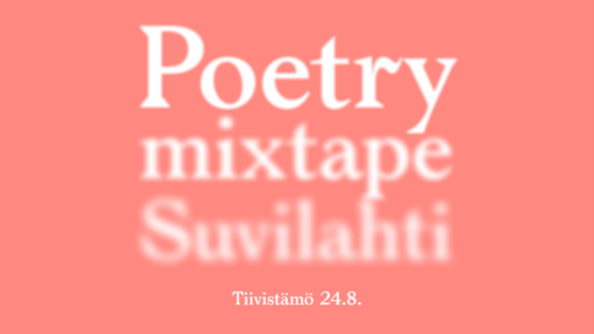 Link to event Poetry Mixtape