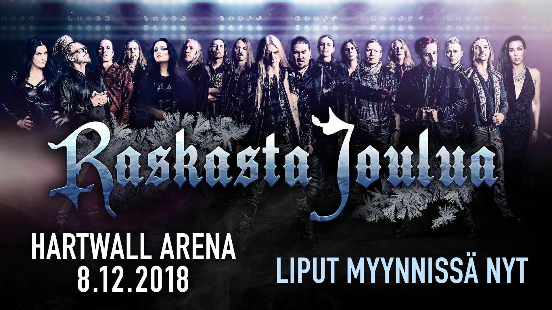 joulu 2018 vapaat Raskasta Joulua  konsertti 2018 | Tapahtuma | Helsingin kaupunki joulu 2018 vapaat