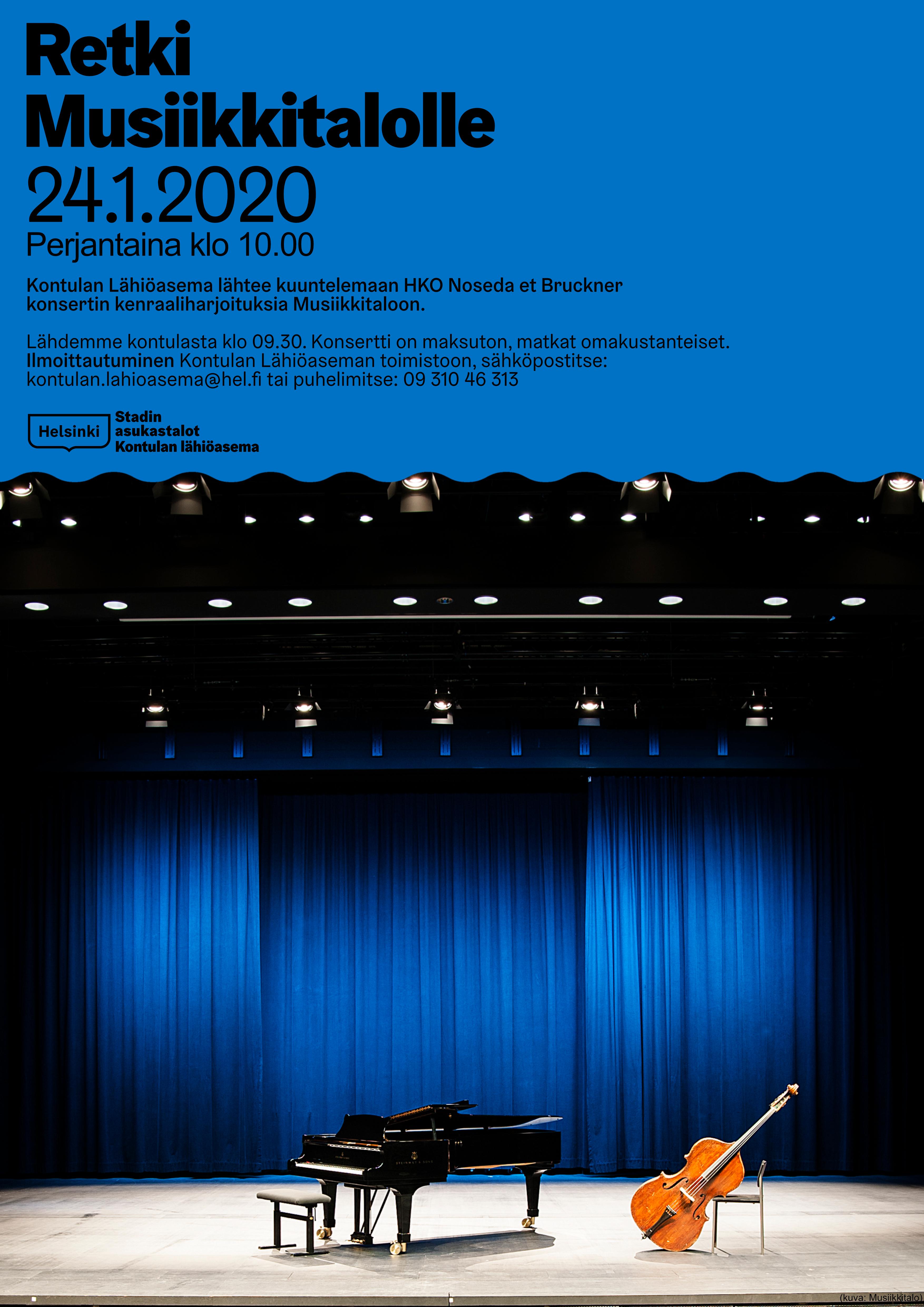 Link to event Retki musiikkitalolle