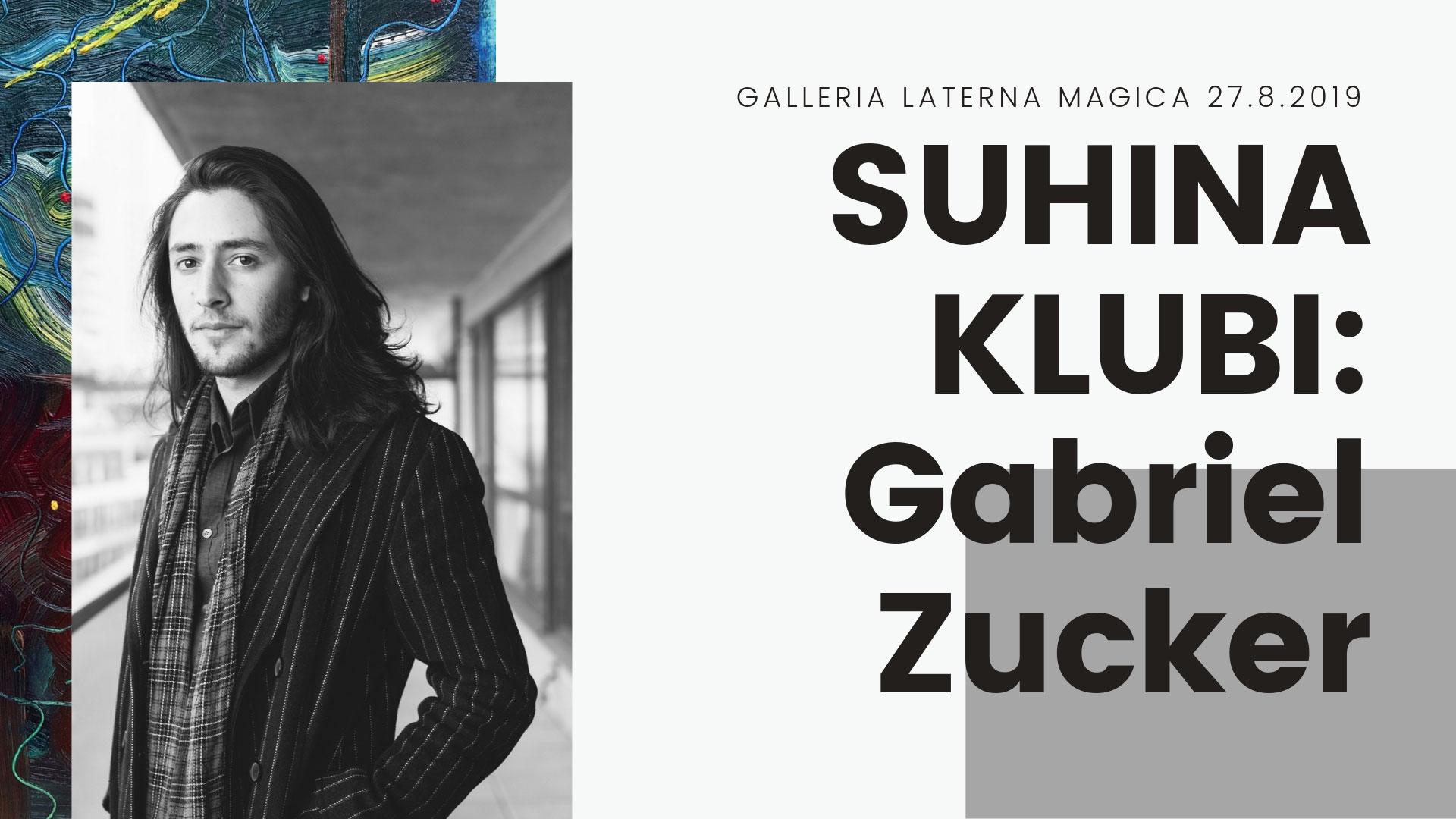 Linkki tapahtumaan Suhina-klubi: Gabriel Zucker