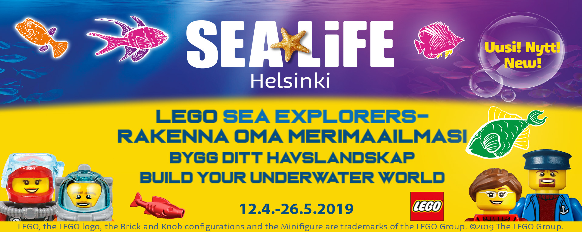 Link to event Lego Sea Explorers - build your own underwater world