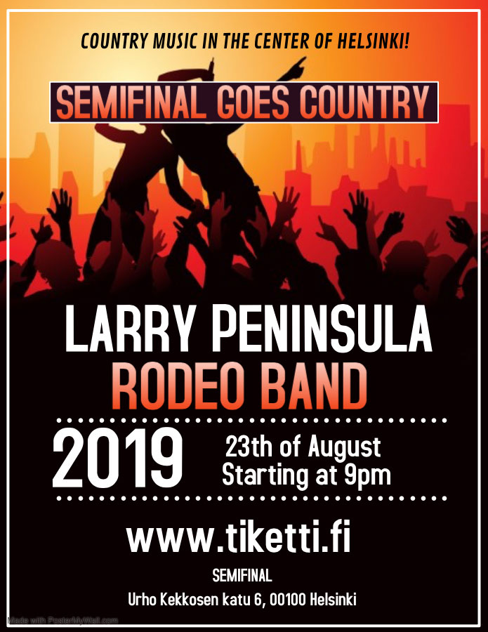 Link to event Semifinal Goes Country! Larry Peninsula, Rodeo Band