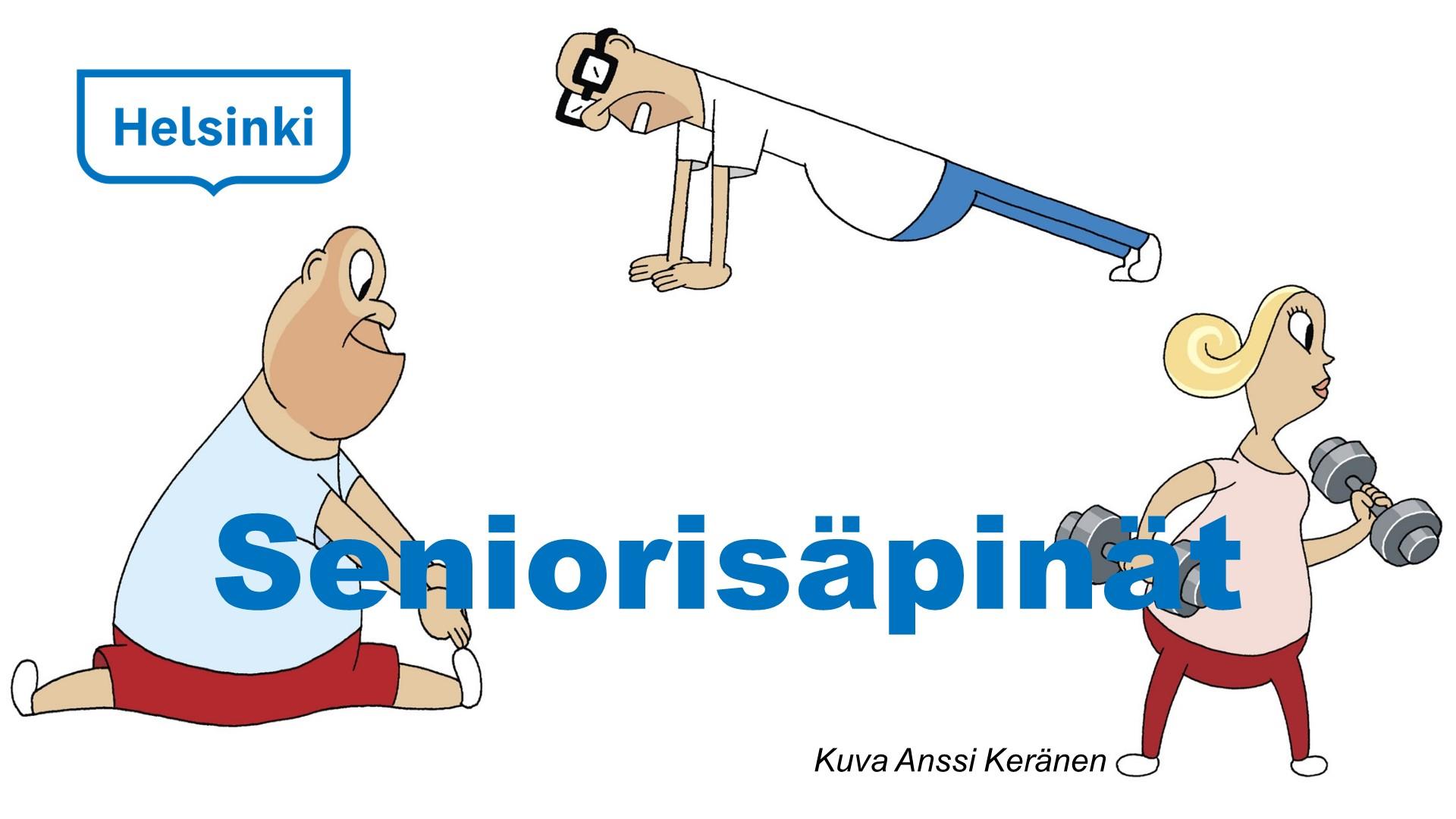 Linkki tapahtumaan Seniorisäpinät