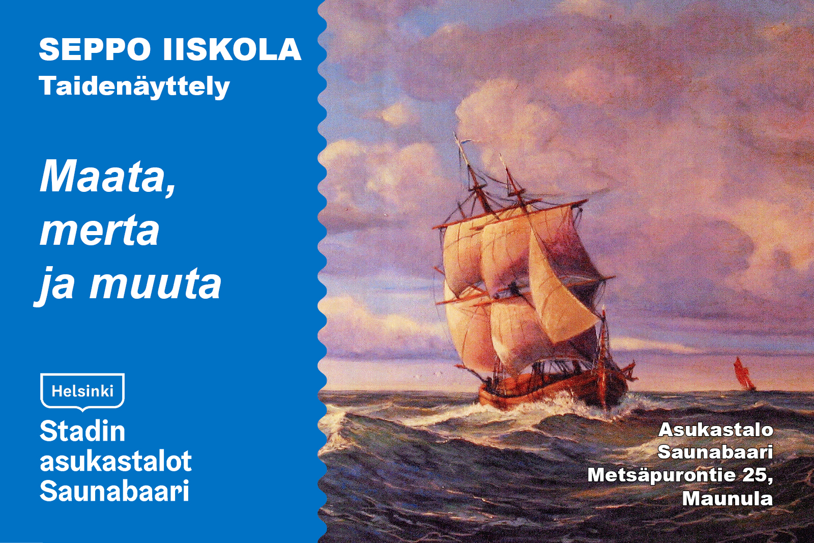 Linkki tapahtumaan Seppo Iiskola - taidenäyttely
