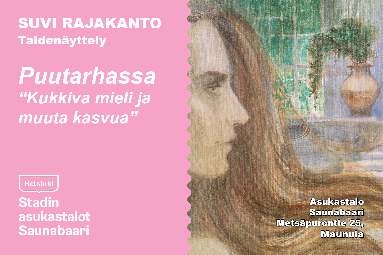 Linkki tapahtumaan Suvi Rajakanto - taidenäyttely