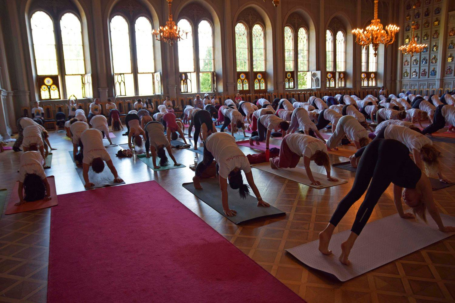 Link to event International Day of Yoga in Helsinki