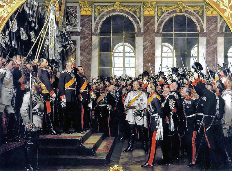Linkki tapahtumaan Saksan ja Euroopan kivulias yhdentyminen