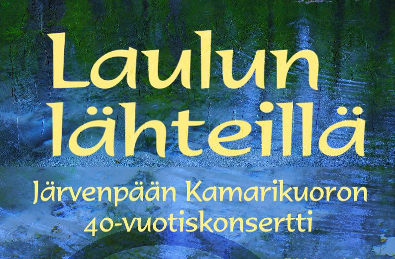 Link to event Laulun Lähteillä Concert>