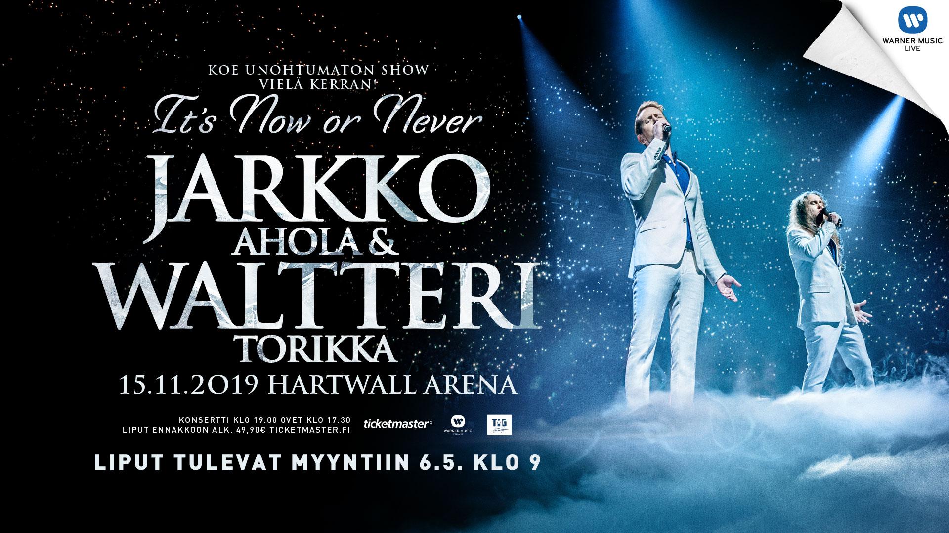 Linkki tapahtumaan Jarkko Ahola & Waltteri Torikka