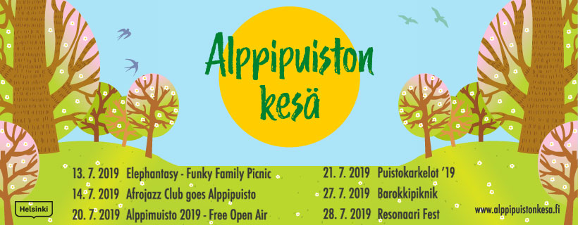 Link to event Alppipuisto Summer Events 2019