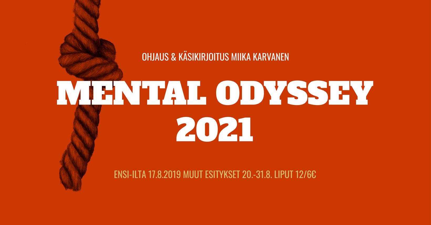 Linkki tapahtumaan Mental Odyssey 2021