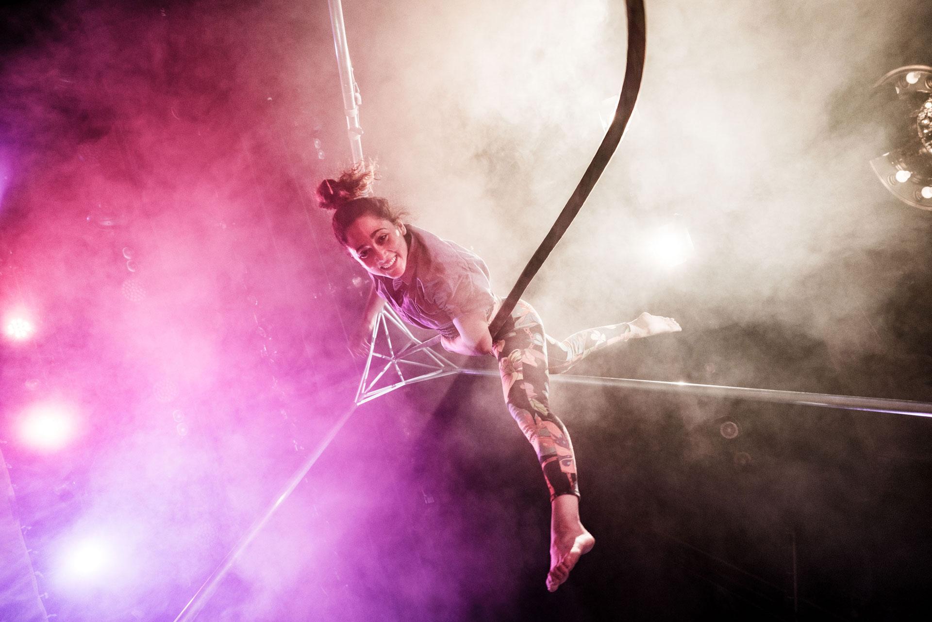 Länken till evenemang Cirkus Cirkör: Bloom