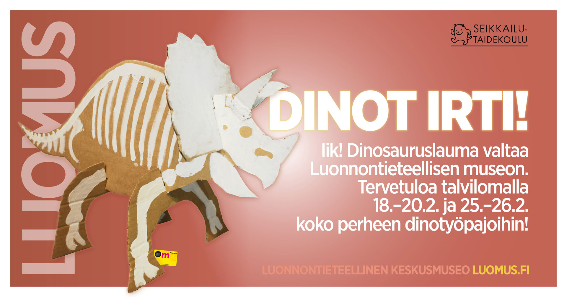 Link to event Build a Dinosaur Workshop